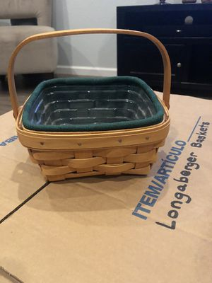 Longaberger Small Berry Basket for Sale in Chandler, AZ