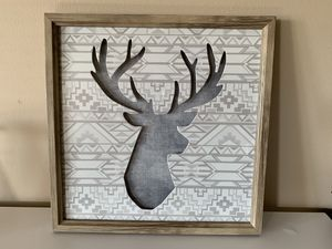 """Deer wall hanging 15""""x15""""x1"""" LIKE NEW EXCELLENT CONDITION for Sale in Crestwood, IL"""