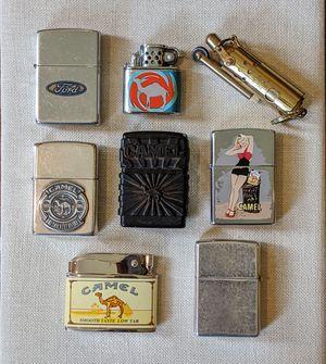 8 Vintage Zippo Lighters + Boxes for Sale in Atlanta, GA