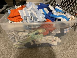 3 and 3-6 month baby boy clothes for Sale in Parker, CO
