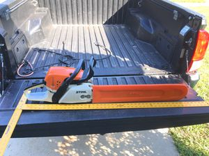 Like new Stihl chainsaw MS 391 new bar and chain 28 inch for Sale in Margate, FL