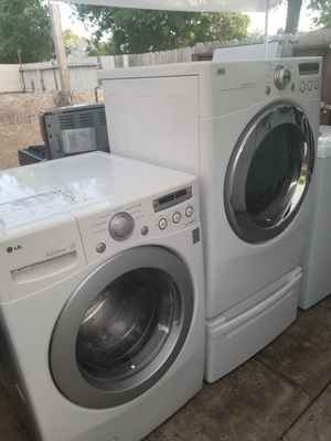 Lg washer and dryer for Sale in Stockton, CA