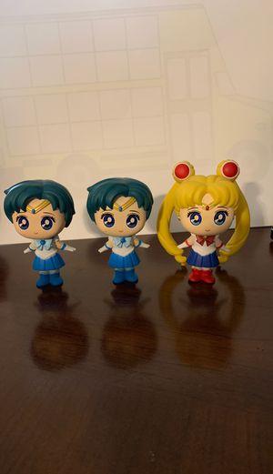 Sailor Moon Mini Figures for Sale in El Paso, TX