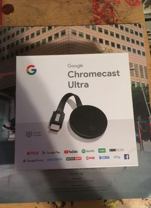 Google Chromecast Ultra for Sale in Falls Church, VA