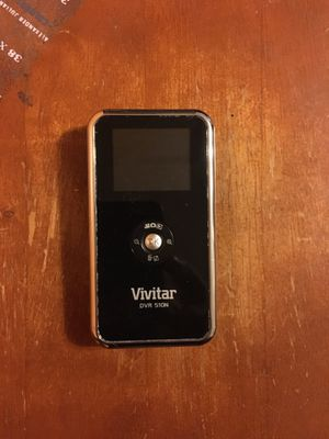 Vivitar DVR 510n recorder & photo runs on batteries for Sale in Boston, MA