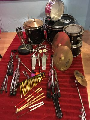 Adult size drums $200 for Sale in Ann Arbor, MI