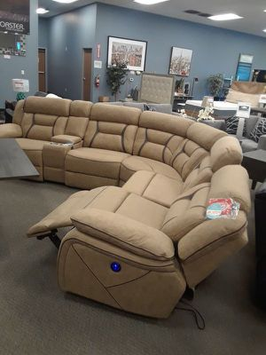 Suede Sectional for Sale in Antioch, CA
