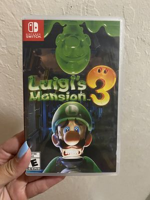 Luigi's Mansion 3 Nintendo Switch for Sale in San Jose, CA