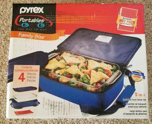 Pyrex Portables 2 Qt/L Family Size ~ 4 Pc. Set ~ NIB for Sale in Bonney Lake, WA