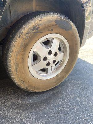 """15"""" jeep 5x4.5 wheels for Sale in Riverside, CA"""