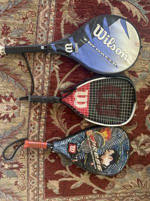 Wilson tennis rackets for Sale in Selma, CA