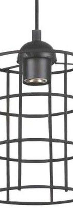 Adjustable Industrial Cage One-Light Indoor Mini Pendant for Sale in City of Industry,  CA