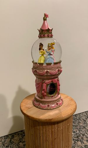 Authentic Disney Parks Collectible Princess Snow Globe for Sale in Denver, CO