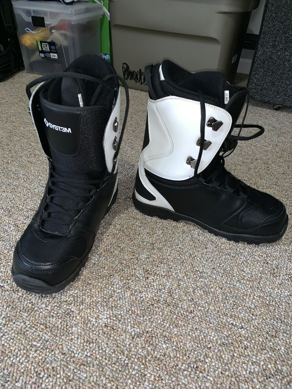 Syst3m APX Snowboard Boots and Insulation liner (Size 11).