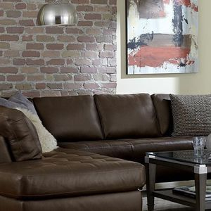 Leather Sectional for Sale in Portland, OR