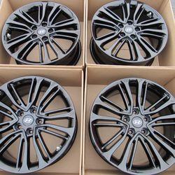 "18"" Hyundai Veloster Sonata Factory OEM Wheels Rims Set of 4 Gloss Black for Sale in Tustin,  CA"