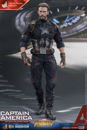 Sideshow hot toys captain America 1/6 Figure new marvel movie promo for Sale in Queens, NY