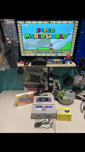 Super Nintendo super Mario world for Sale in Miami, FL