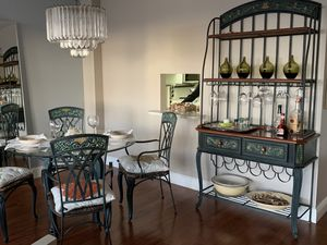 Set of dining table and wine storage! for Sale in North Miami, FL
