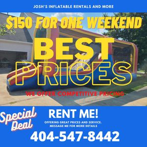 Inflatable Obstacle Course for Sale in Lawrenceville, GA