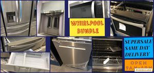 Whirlpool bundles full kitchen set of appliances for Sale in Hollywood, CA