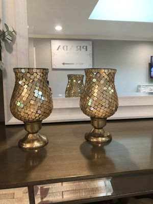 Candle holder (set of 2) for Sale in Newport Beach, CA