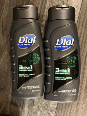 Dial for men recharge body wash $2.75 each for Sale in San Bernardino, CA