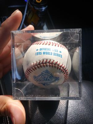 Braves official 95' world series ball for Sale in Lawrenceville, GA