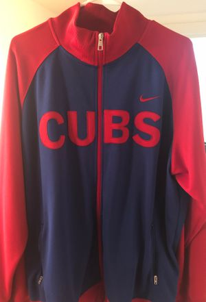 Chicago Cubs Nike Track Jacket for Sale in Bedford Park, IL