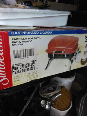 Sunbeam portable propane BBQ grill for Sale in Parma, OH