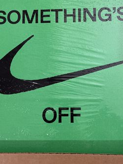ICONS Something's Off Virgil Abloh Book Nike Off-White for Sale in Gresham,  OR