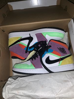 "Jordan 1 Mid in a ""Multicolor"" makeup. for Sale in Washington, DC"