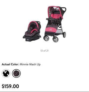 Disney Combo Stroller car seat for Sale in Miami, FL
