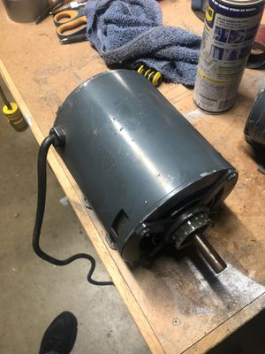 GE 1.25hp electric motor for Sale in Downey, CA
