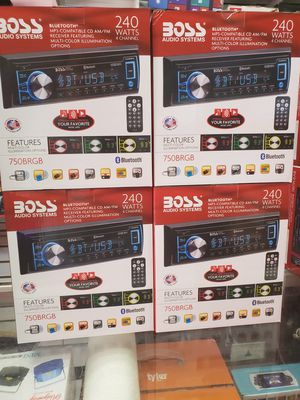240 watts . CD PLAYER AND USB AND BLUETOOTH AND MP3 CDS. Different colors ILLUMINATION. for Sale in Los Angeles, CA