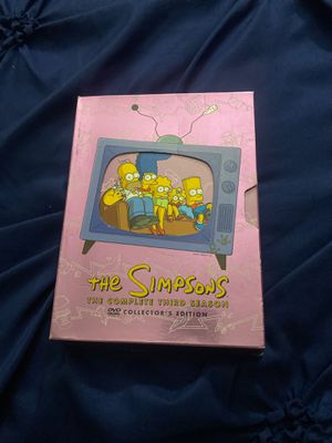 The Simpsons The Complete Third Season DVD 4 Disc for Sale in Brooklyn, NY