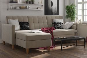 Sectional storage futon with ottoman brand new in box for Sale in Nashville, TN