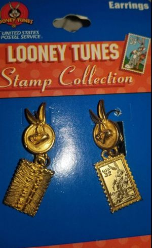 Looney Tunes Bugs Bunny USPS Stamp Earrings for Sale in Chicago, IL