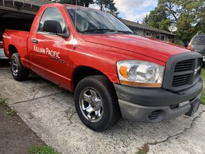 2006 Dodge Ram 1500 v6 rwd only 80k miles for Sale in Olympia, WA