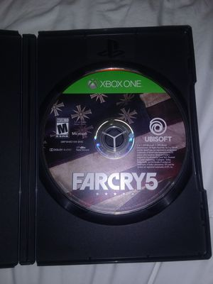 Xbox one far cry 5 for Sale in Allentown, PA
