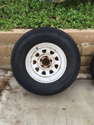 Trailer spare 225/75/15 tire for Sale in Corona, CA