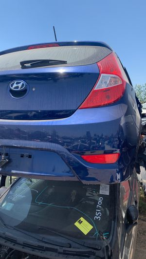 Hyundai accent hatchback 2012-2017 parts for Sale in Fontana, CA
