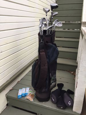 FOREMOST golf clubs, with accessories for Sale in San Diego, CA