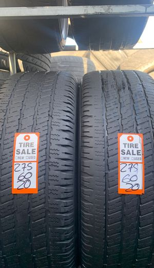 Tires 275/60/20 good year for Sale in Miami Gardens, FL