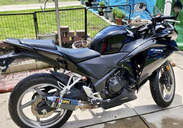 For sale Honda CBR250R 2012