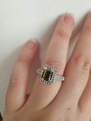 New 2ct beautiful moissanite diamond ring for Sale in Bloomfield Hills, MI