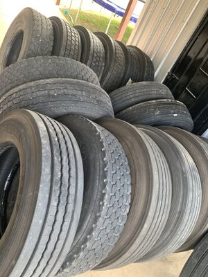 Tires Drive11R22.5,Drive,steer & trailer 295/75R22.5 for Sale in Dallas, TX