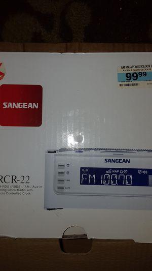 Radio alarm clock rcr 22 sangean for Sale in Greenville, SC
