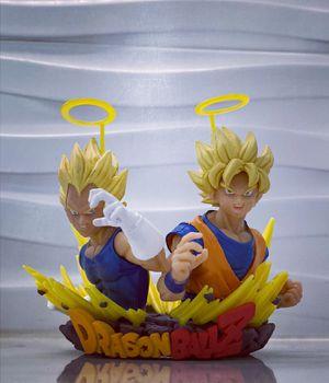 Double Super Saiyan 2 Goku Vegeta Rare Dragon Ball Z DBZ DBS Super Figure Model for Sale in Miami Beach, FL