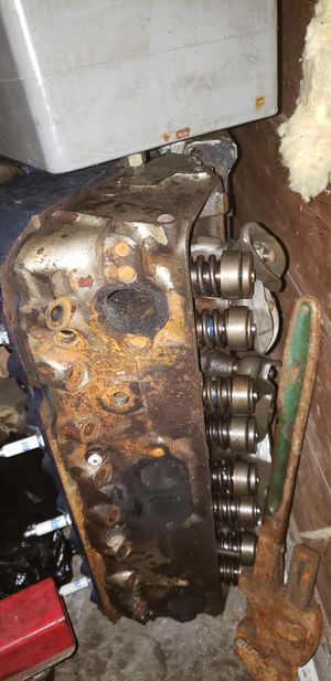 Chevy parts: headers, 801 heads, 350 turbo transmission rebuilt for Sale in Seattle, WA